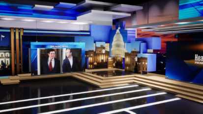 Hearst DC Bureau Launch New Virtual Set