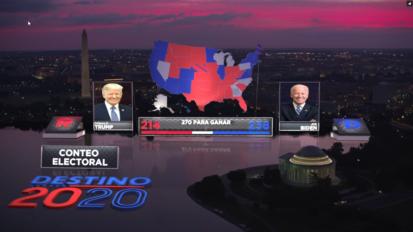 Univision Destino 2020 Elections AR Graphics